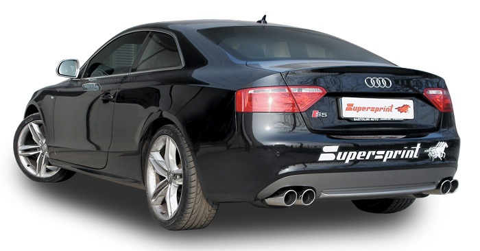 audi s5 3 0 tfsi supersprint auspuffanlage entwicklung 2012 mai 21. Black Bedroom Furniture Sets. Home Design Ideas
