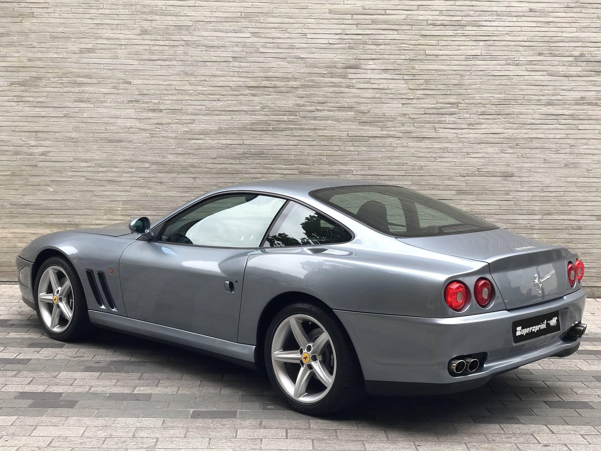 Supersprint Auspuff Für Ferrari 575m Maranello V12 515 Ps 02 05