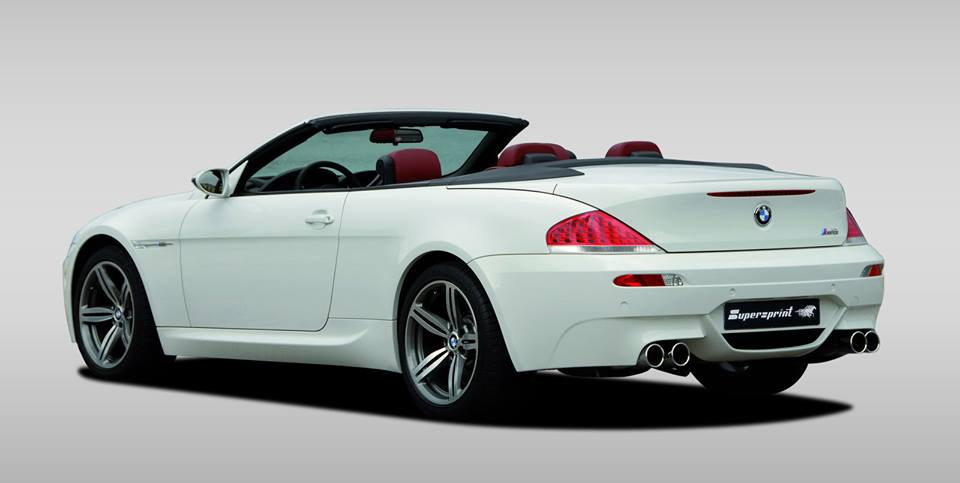 Supersprint Exhaust for BMW E64 Cabrio M6 5.0i V10 ' 05 ->
