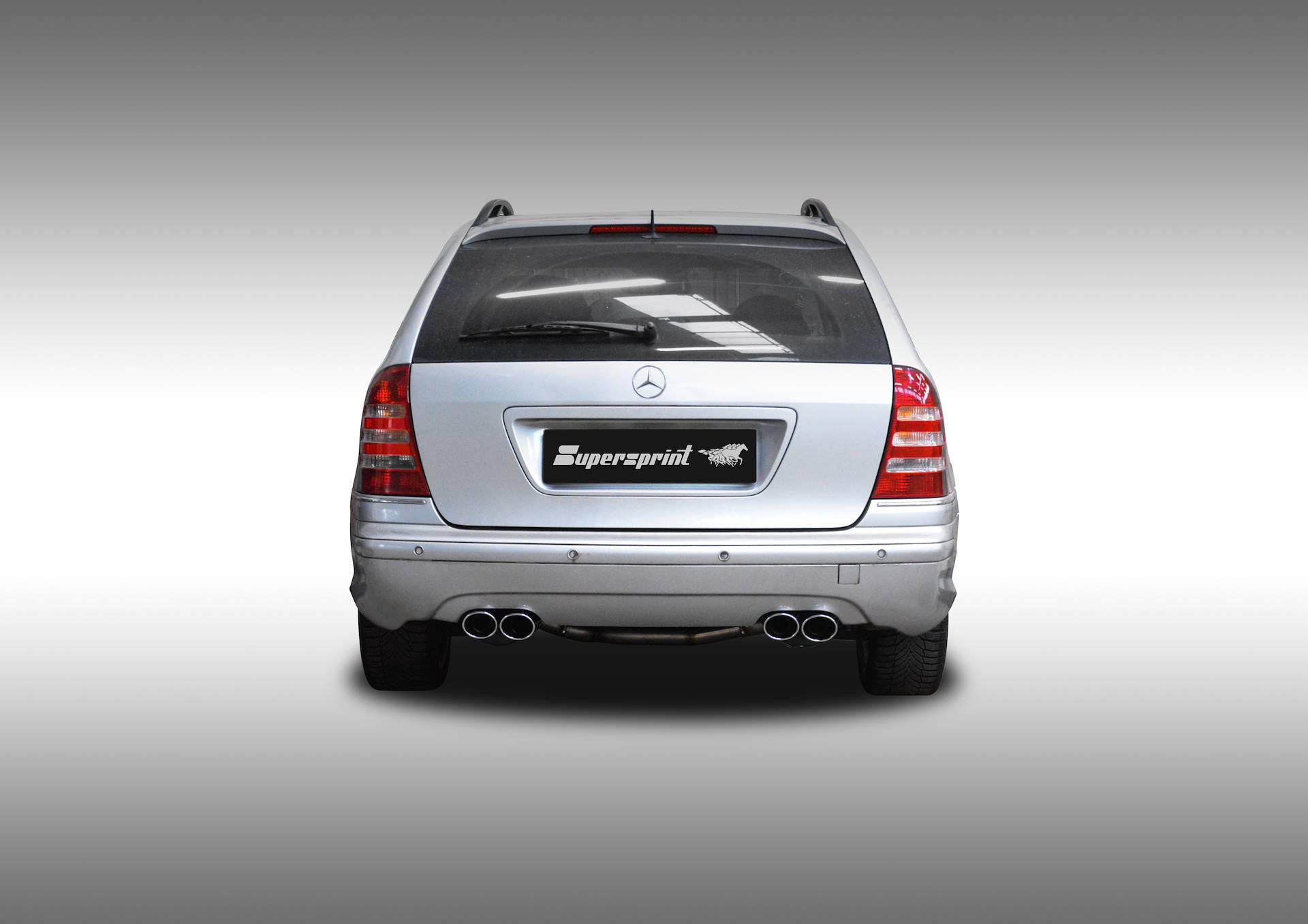 Supersprint fra Danspeed til Mercedes W203 C 55 AMG V8