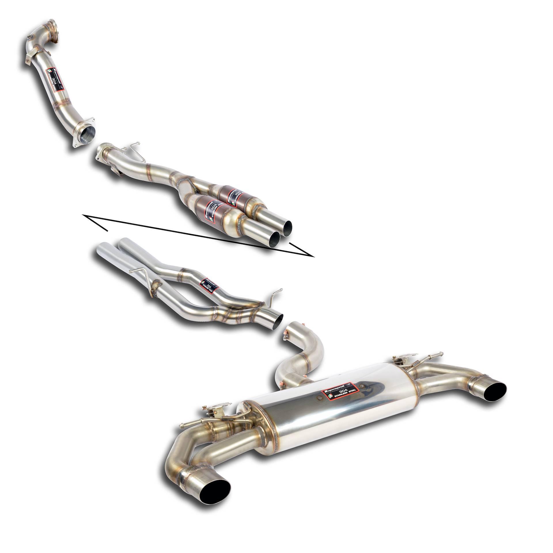 Supersprint twin pipe udstødning fra Danspeed til Audi RS Q3 TFSI