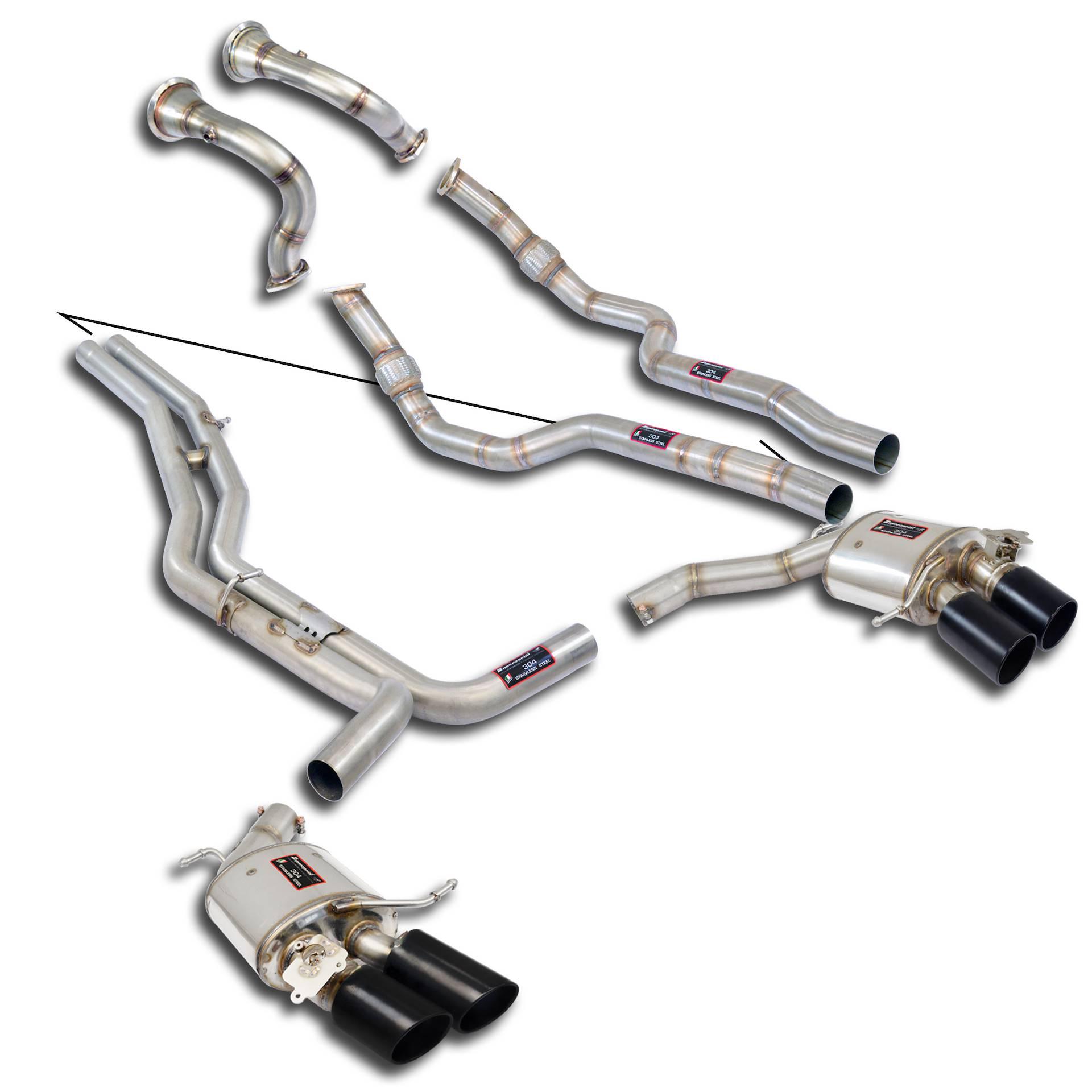 Supersprint fra Danspeed til Audi RS7 Quattro Sportback 4.0 TFSI V8