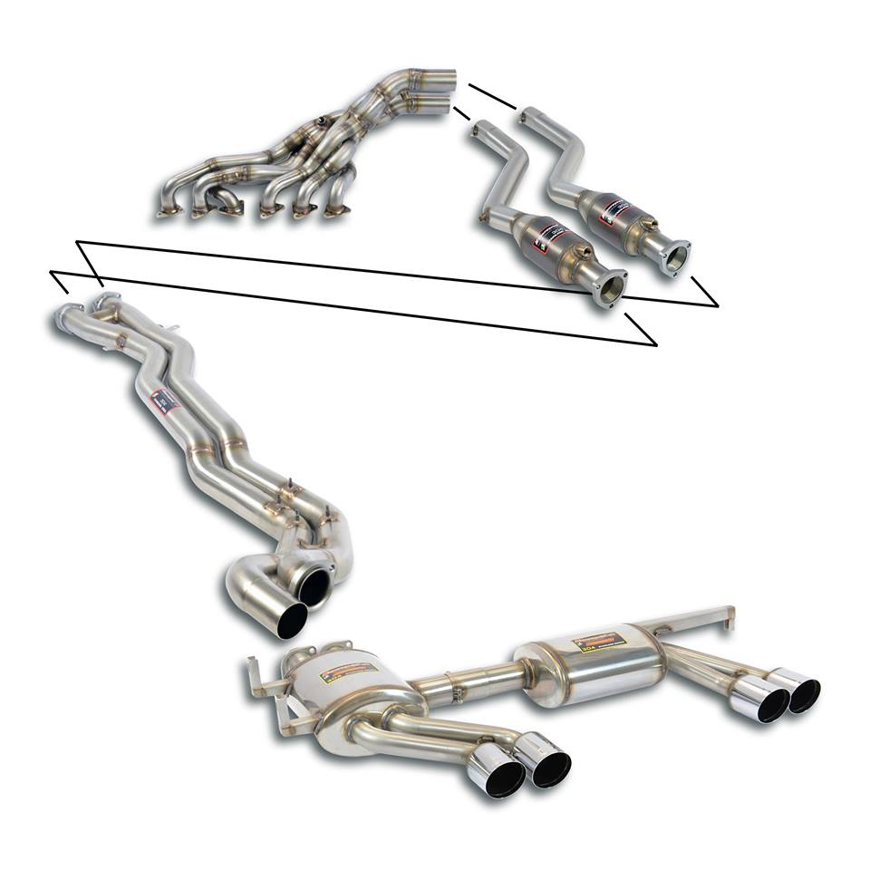Full system fra Supersprint til BMW E46 M3 3.2i