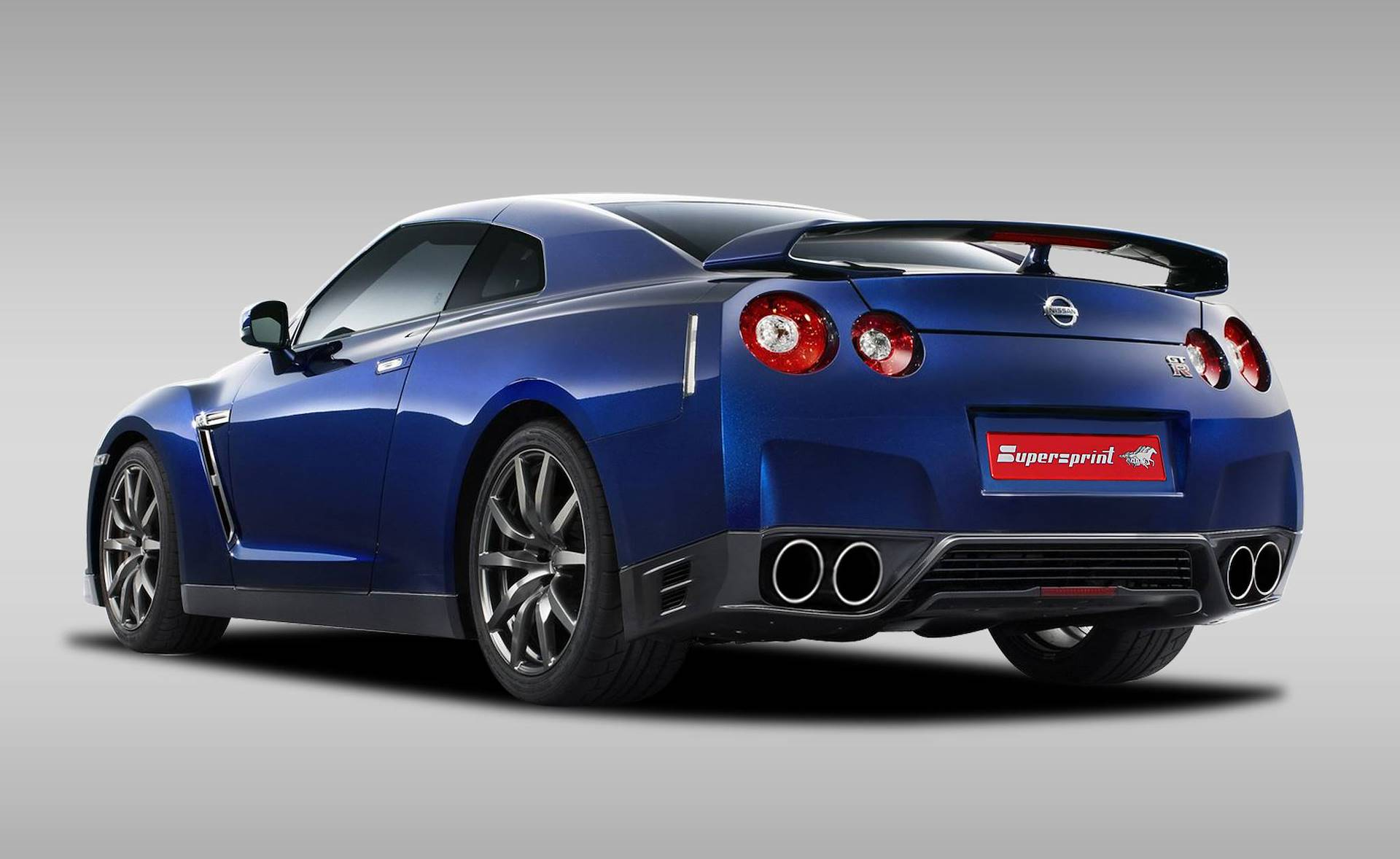 Supersprint Exhaust for NISSAN GT-R 3.8 V6 Bi-Turbo (530 Hp) 2011 -> 2012
