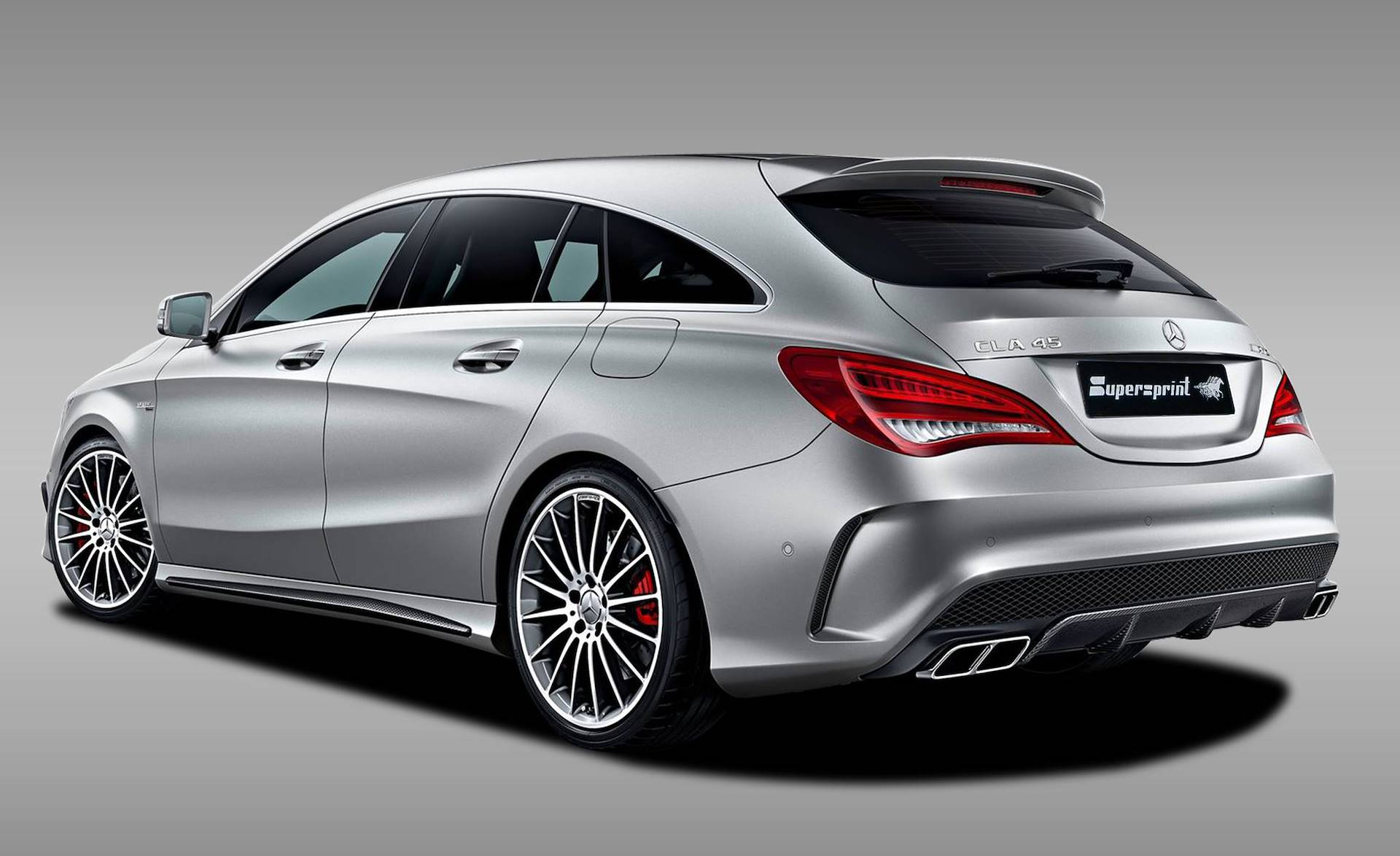 Supersprint Exhaust For Mercedes X117 Cla 45 Amg Shooting Brake 381 Hp 2015