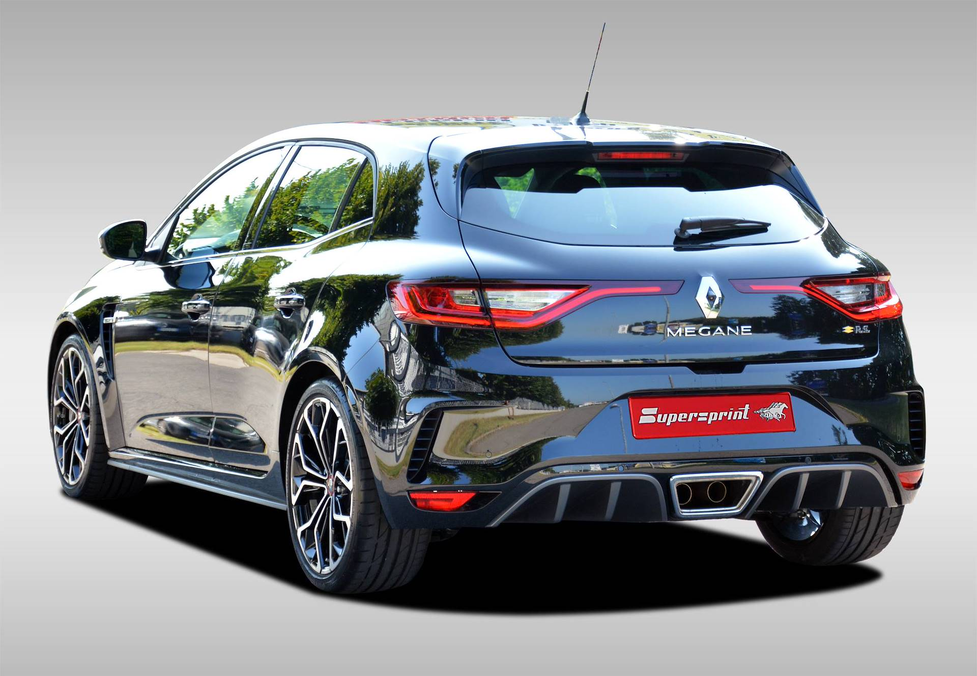 Supersprint Exhaust For Renault Megane Iv 1 8t R S 280 Hp 2018