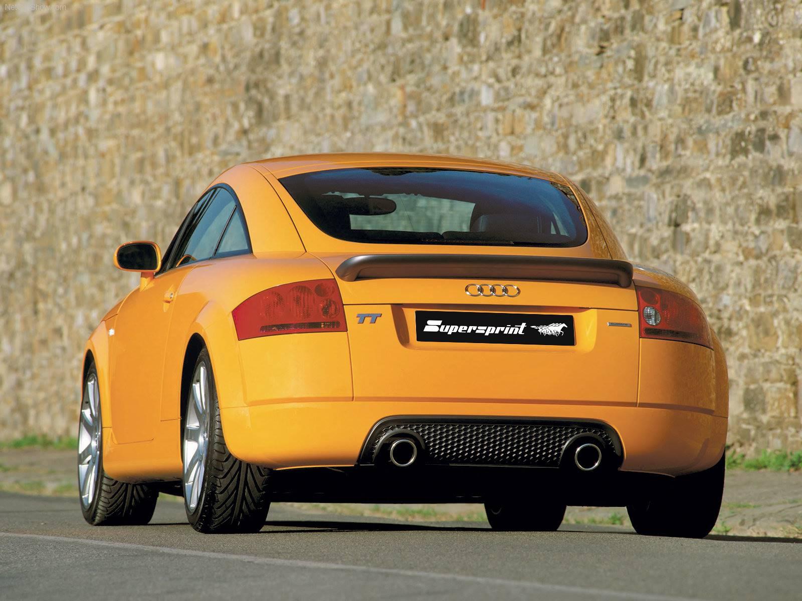 Supersprint fra Danspeed til Audi TT