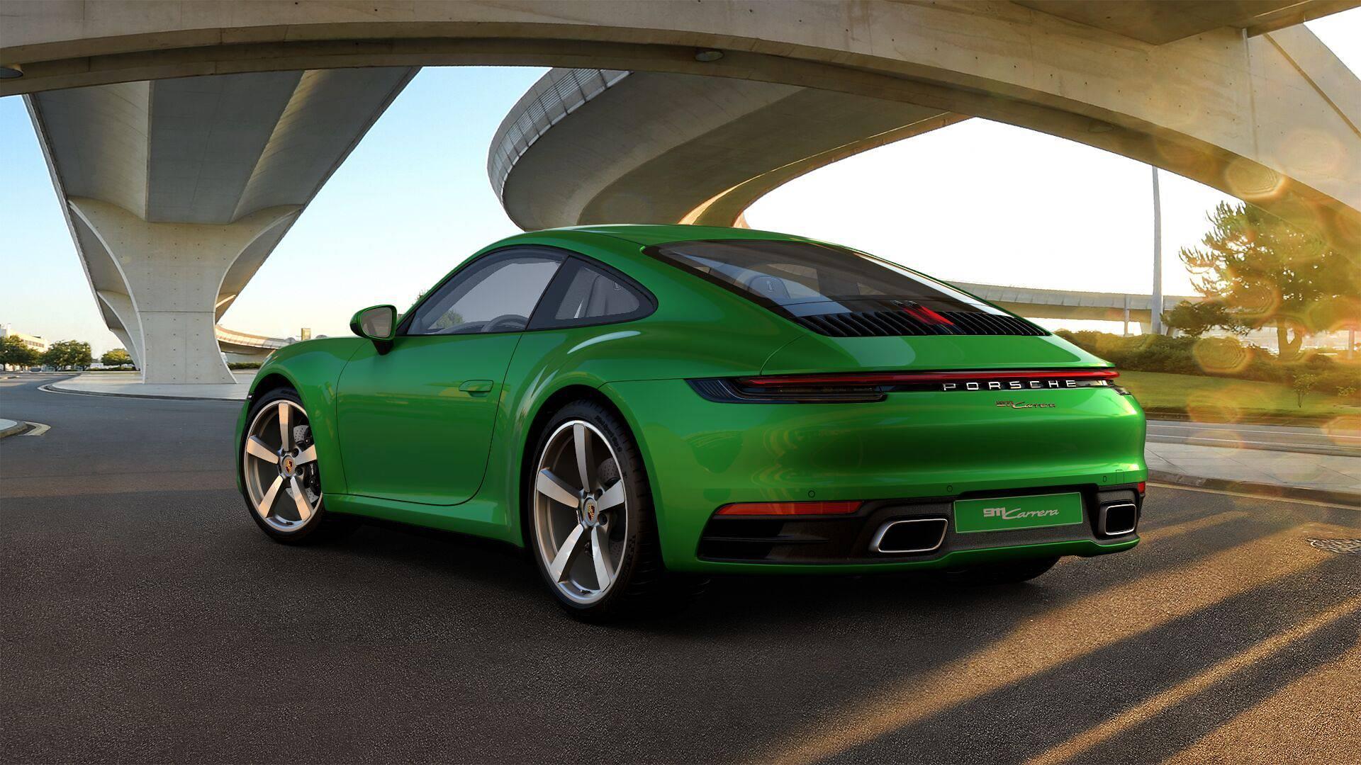 Supersprint sportsudstødning til Porsche 911 992 Carrera