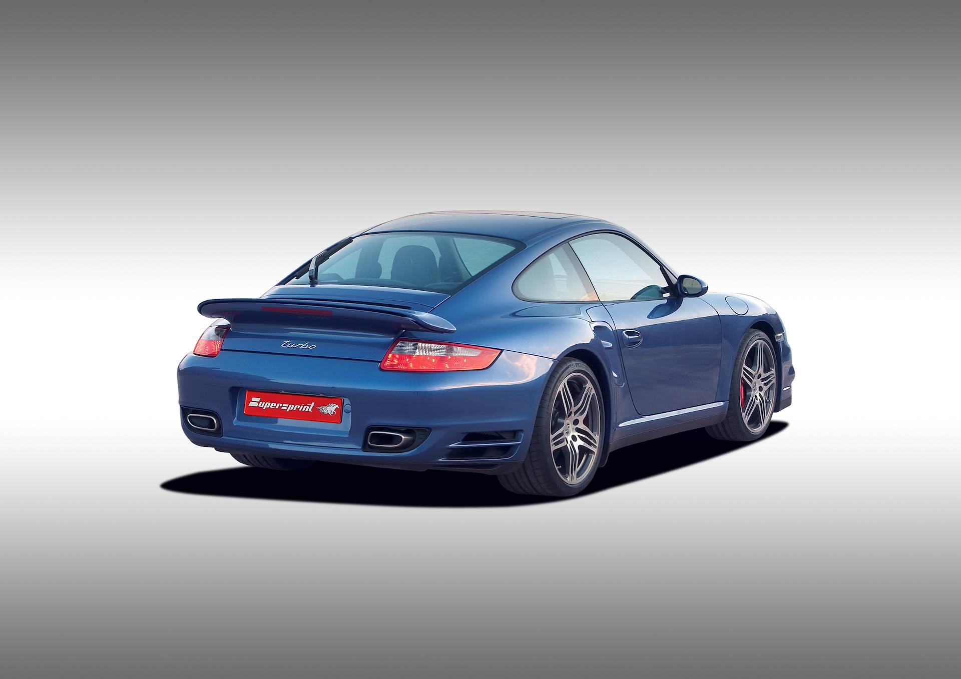 Supersprint Udstødninger til Porsche 911 997 Turbo 3.6 480HK
