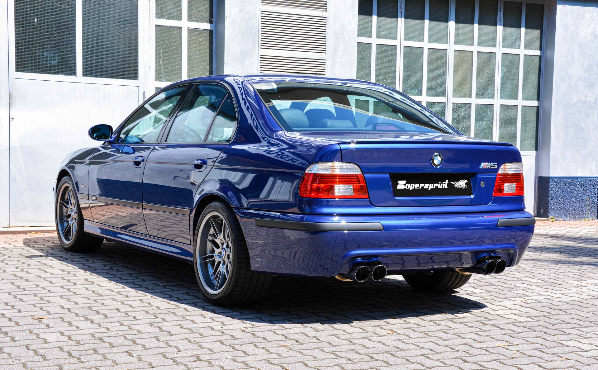 Supersprint fra Danspeed til BMW M5 E39