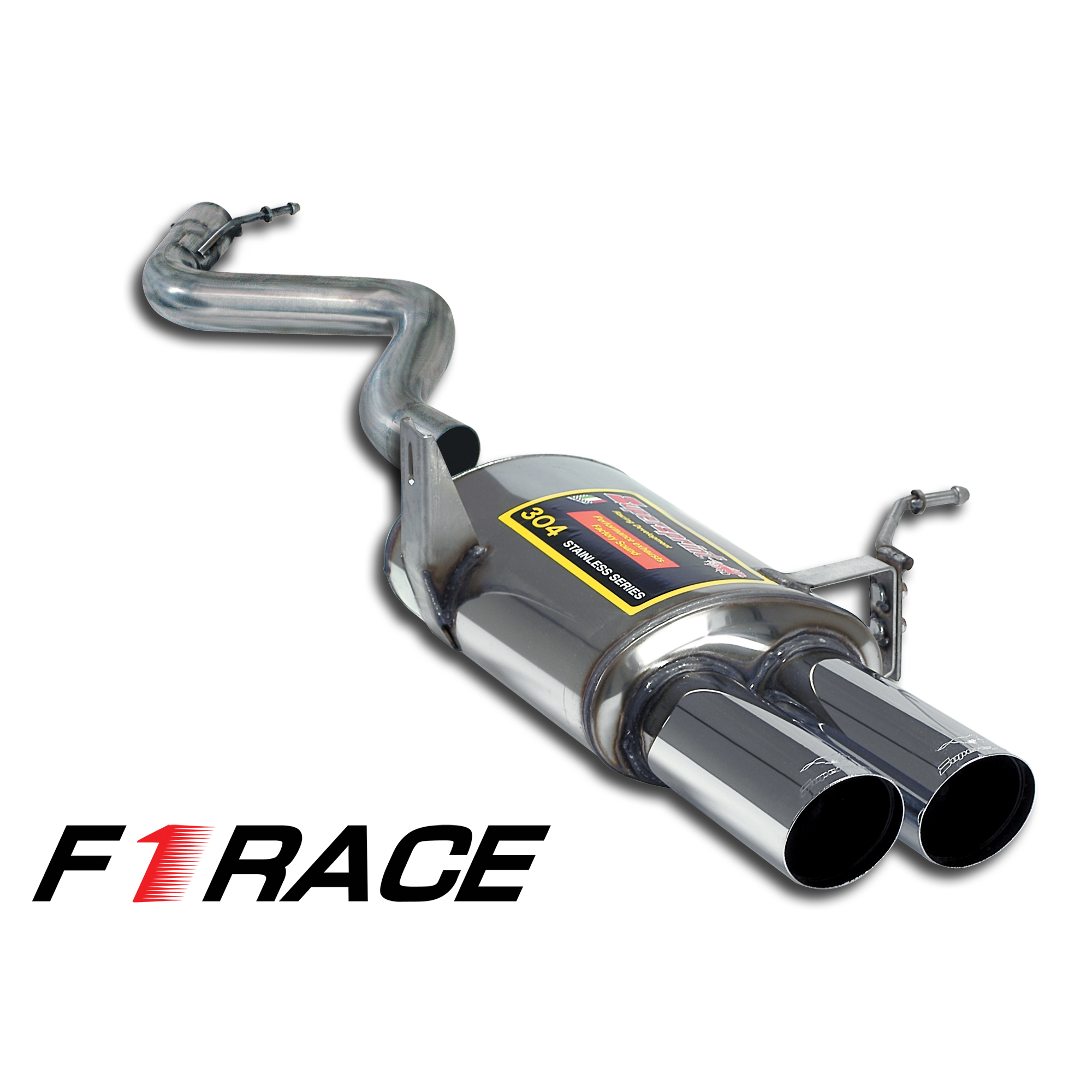 "BMW M - BMW E92 Coupè M3 4.0 V8 '07 -> '13 Rear exhaust Left ""F1 Race LIGHTWEIGHT"" OO80, performance exhaust systems"