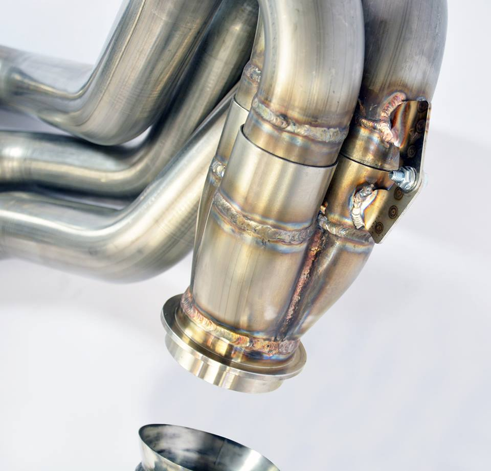 Supersprint Exhaust for PORSCHE 997 GT3 RS 3.8i (450 Hp) 2009 -> 2011