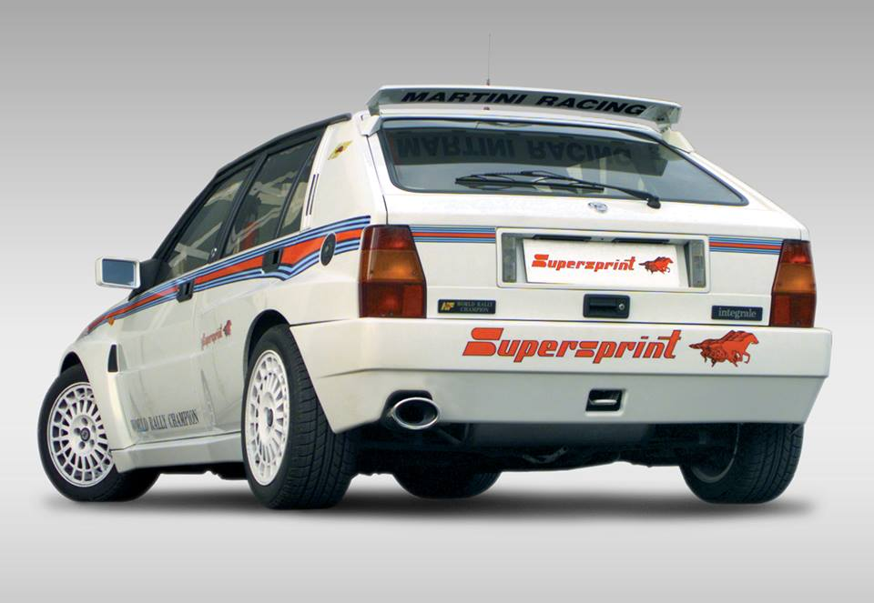 Supersprint Exhaust for LANCIA DELTA 2.0 HF Integrale Evoluzione Kat. ' 92 ->