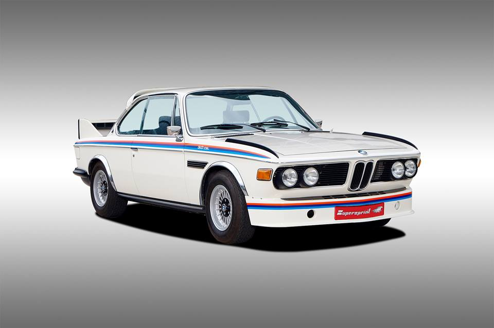 Supersprint Exhaust for BMW E9 3.0 CSL '72 -> '73