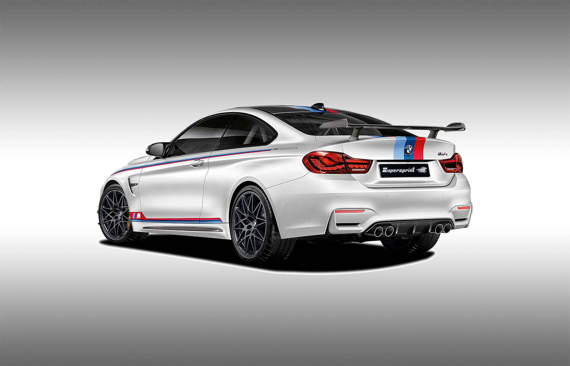 Supersprint Exhaust for BMW F82 M4 DTM Champion Edition 2018 ->