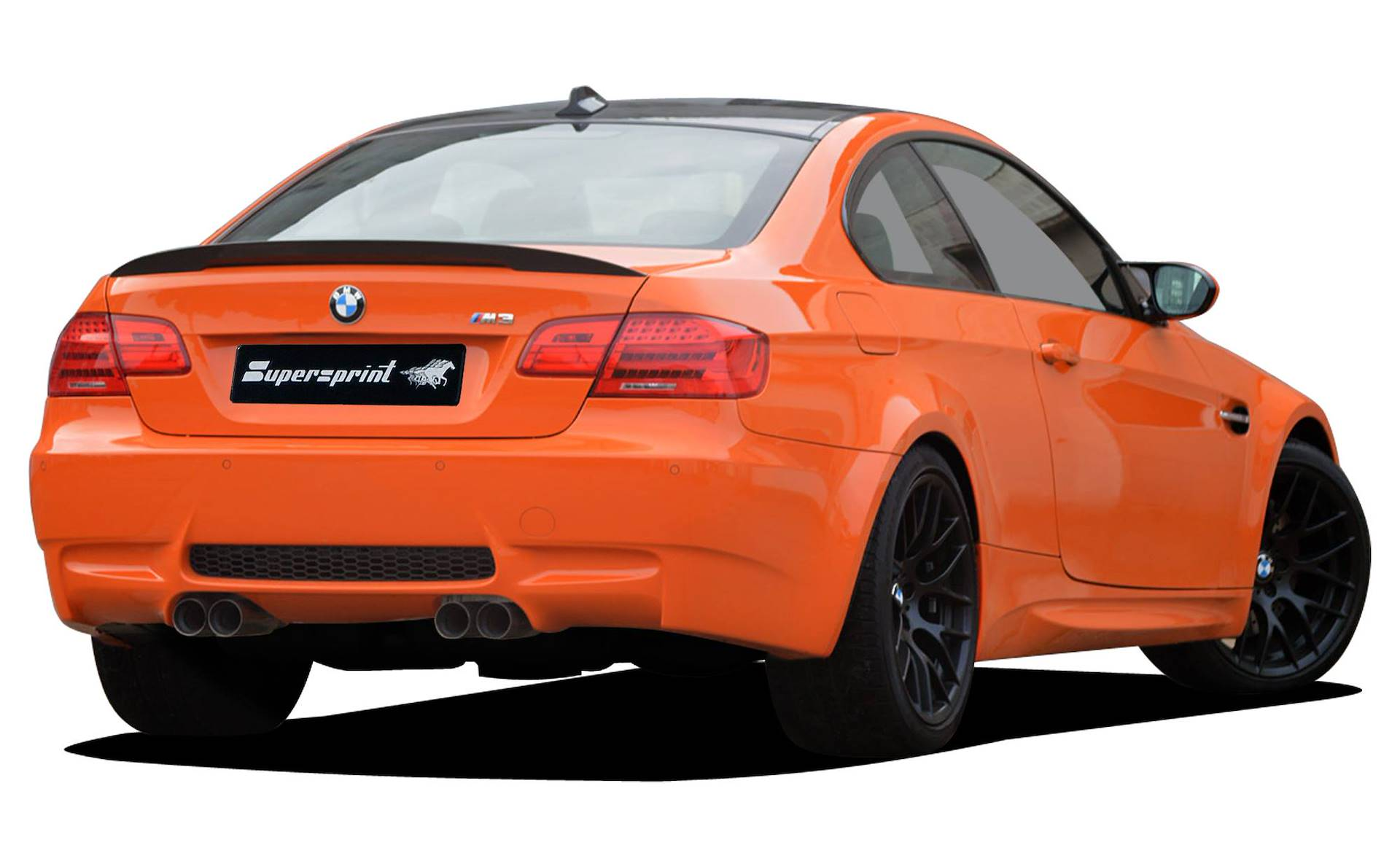 Supersprint Exhaust For Bmw E92 Coupe M3 Lime Rock Park Edition