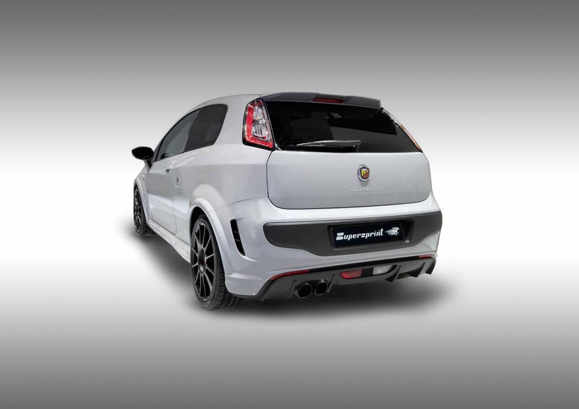 Supersprint Exhaust for GRANDE PUNTO EVO ABARTH 1.4T MultiAir SuperSport (180 Hp) 2012 ->