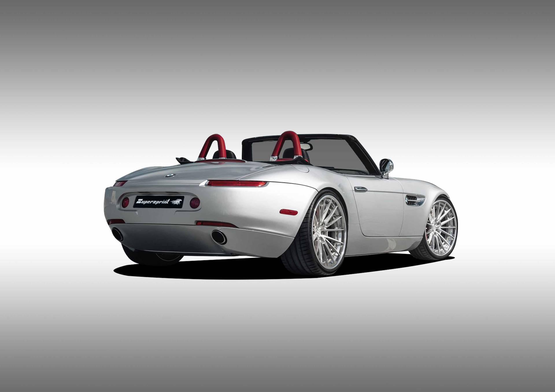 Supersprint udsøtdning til BMW Z8
