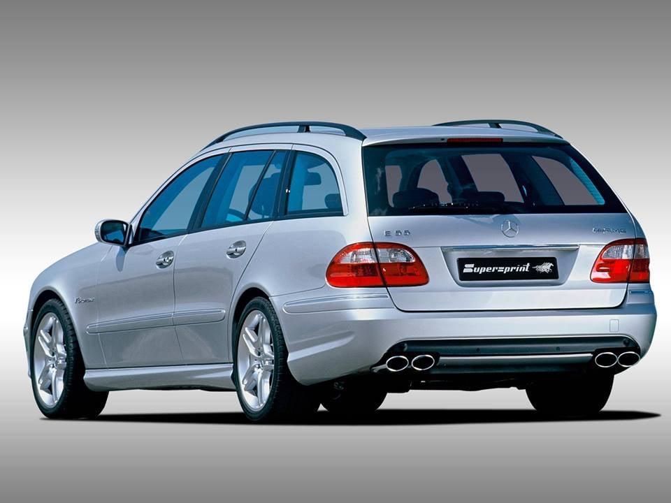 Supersprint fra Danspeed til Mercedes W211 E 55 AMG V8