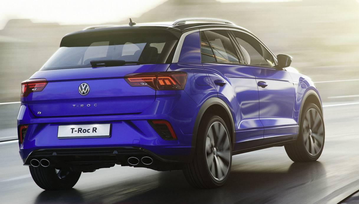 Supersprint fra Danspeed til VW Volkswagen T-Roc R og 1,5 TSI