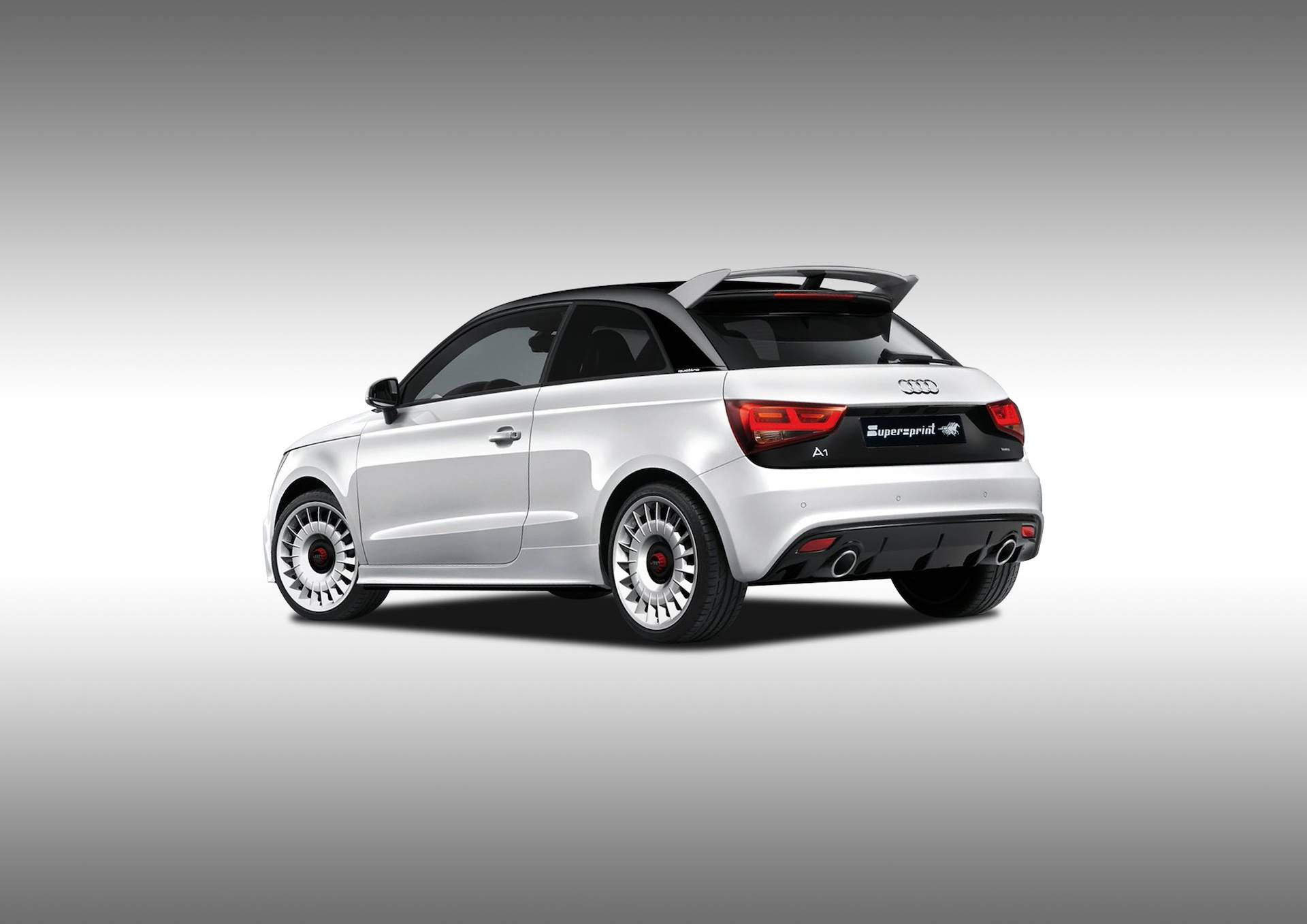 Supersprint Exhaust For Audi A1 Quattro 2 0 Tfsi 256 Hp 2012