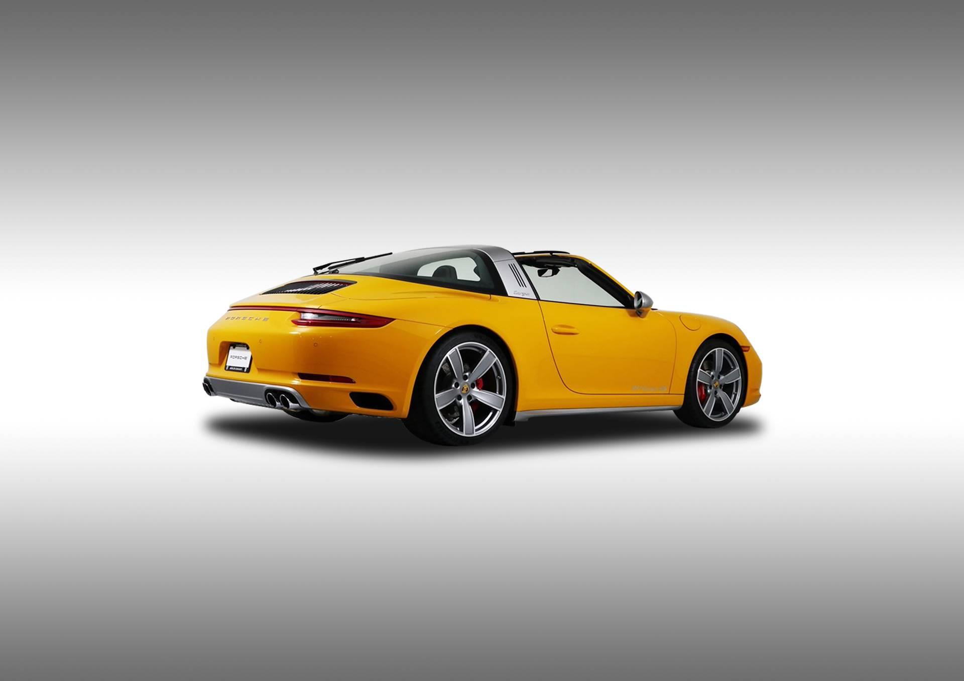 Supersprint Exhaust For Porsche 991 Targa 4 Gts 3 0i Turbo 450 Hp 2017 Std Quad Exhaust