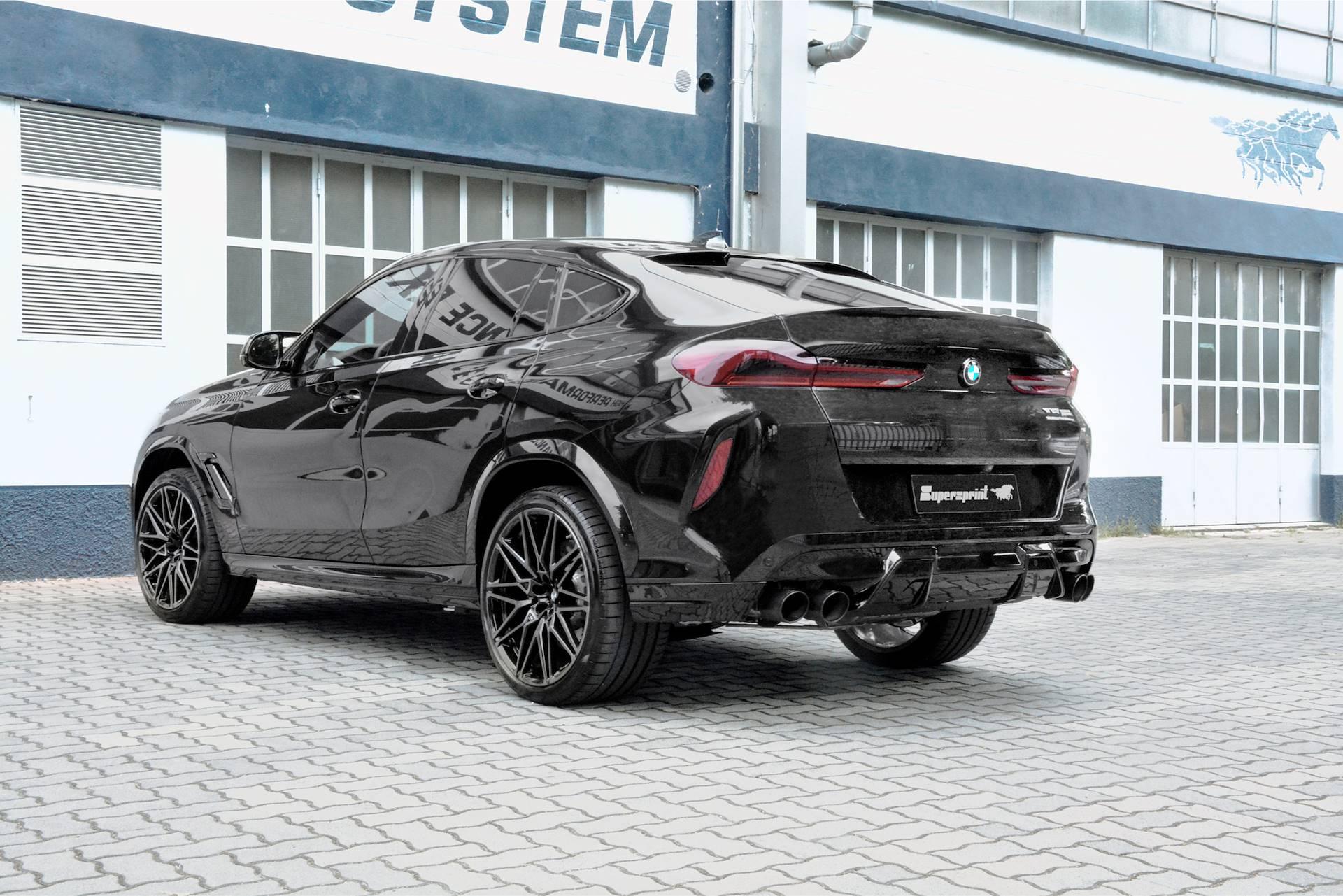 Supersprint fra Danspeed til BMW X6 M F96