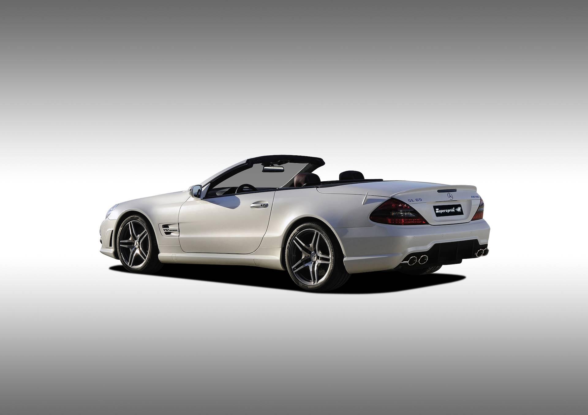 Supersprint fra Danspeed til Mercedes SL R230 AMG 65 V12
