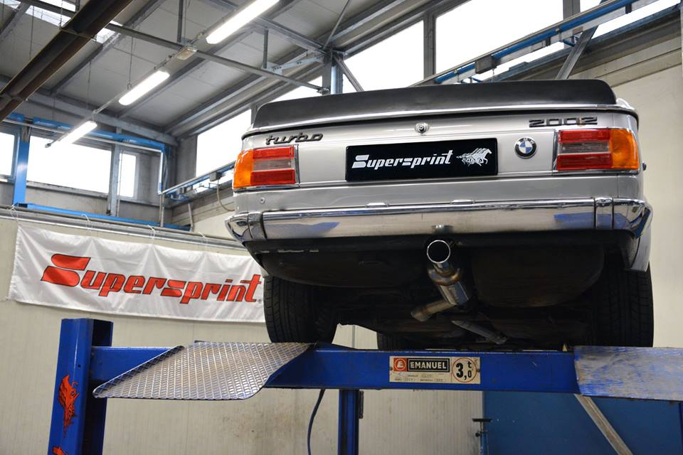 Supersprint Exhaust for BMW Series 02 2002 Turbo '73 -> '75