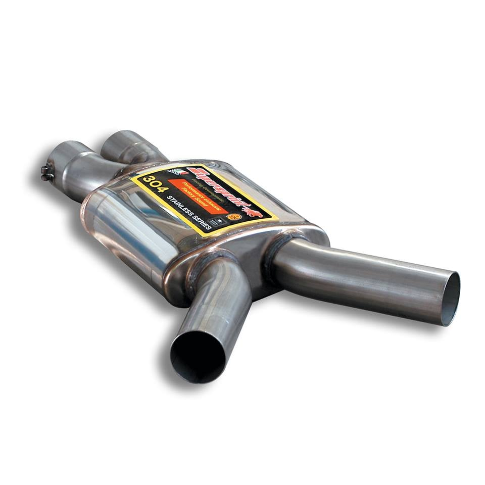 Supersprint Exhaust for MERCEDES W211 E 55 AMG V8 Kompressor (M113 - 5.5L - 476 Hp) '02 -> '06
