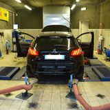 New Supersprint exhaust system for PEUGEOT 308 GTi under development!