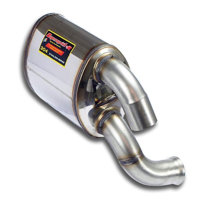 Supersprint | Výfuk - Porsche 993, 3.6i T, 1995-1998, 243834 (Zadní díl výfuku - levá)