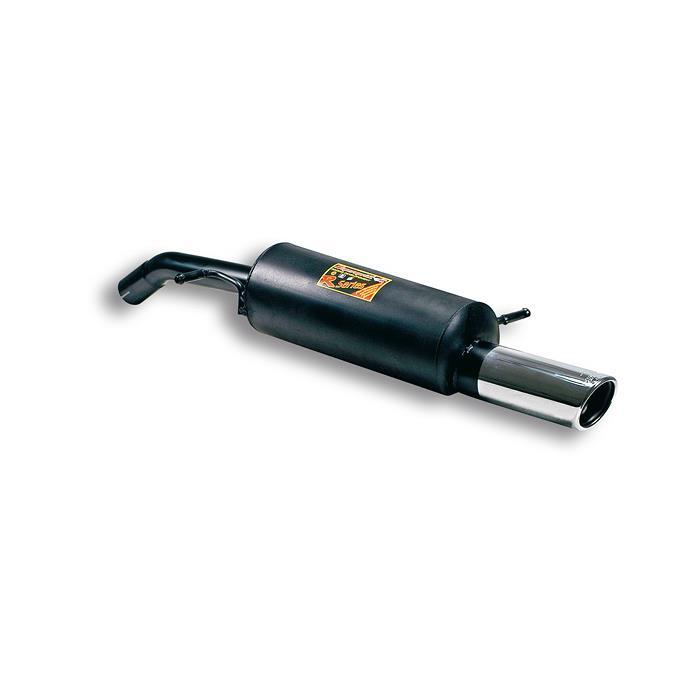 Supersprint | Výfuk - Citroen C2, 1.6i 16V VTR, 2004-2009, 804004 (Zadní díl výfuku ø90 mm, E-approved)