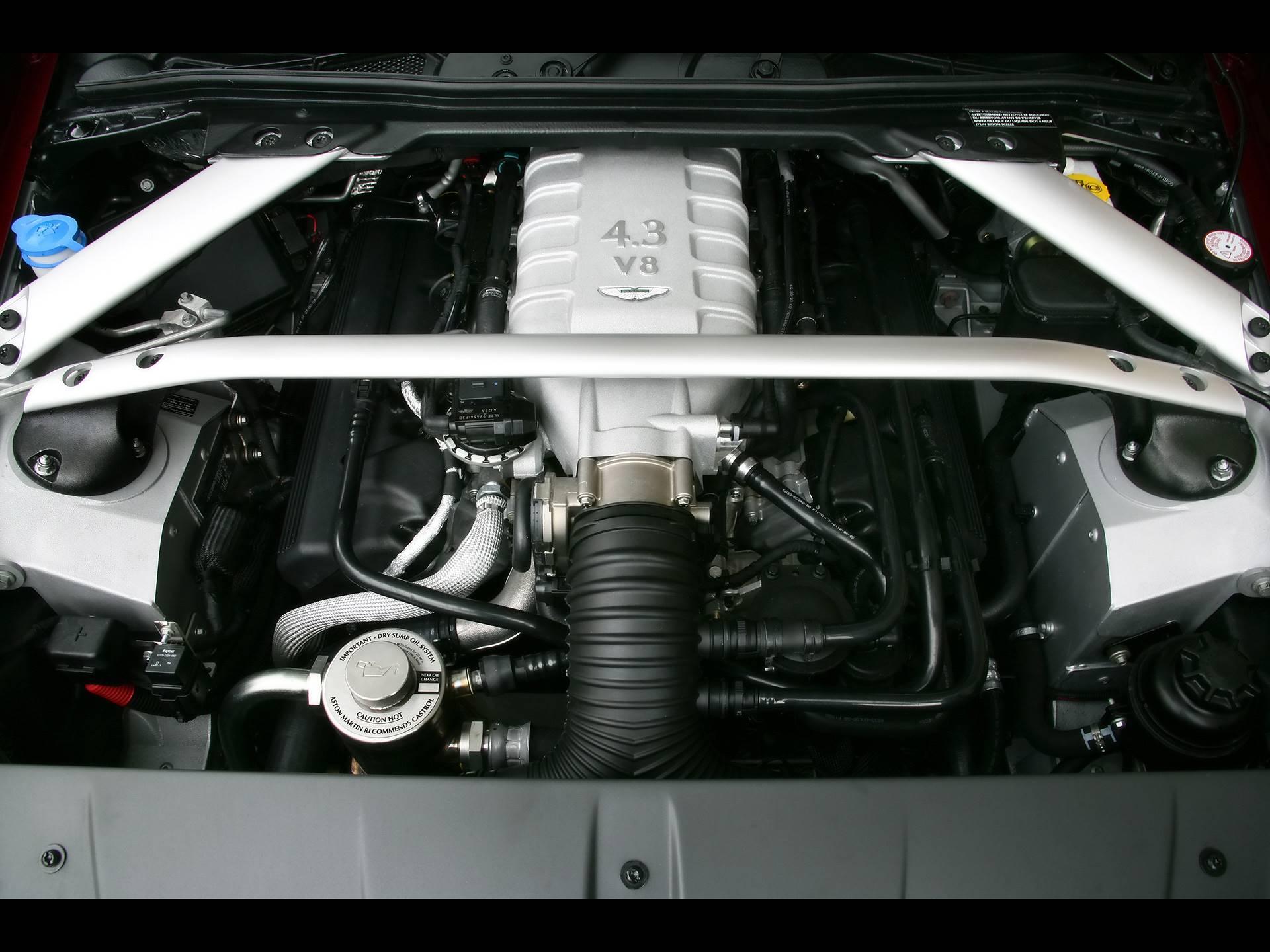 Supersprint Auspuff Für Aston Martin Vantage Coupè Cabrio V8 4 3i 06 08