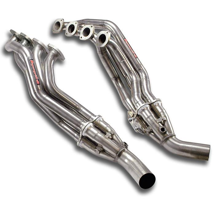 Mercedes - MERCEDES R230 SL 500 V8 (3v) '01 ->'05 Headers<br>(Left Hand Drive)<br>SUPERSPRINT DESIGN PATENT, performance exhaust systems