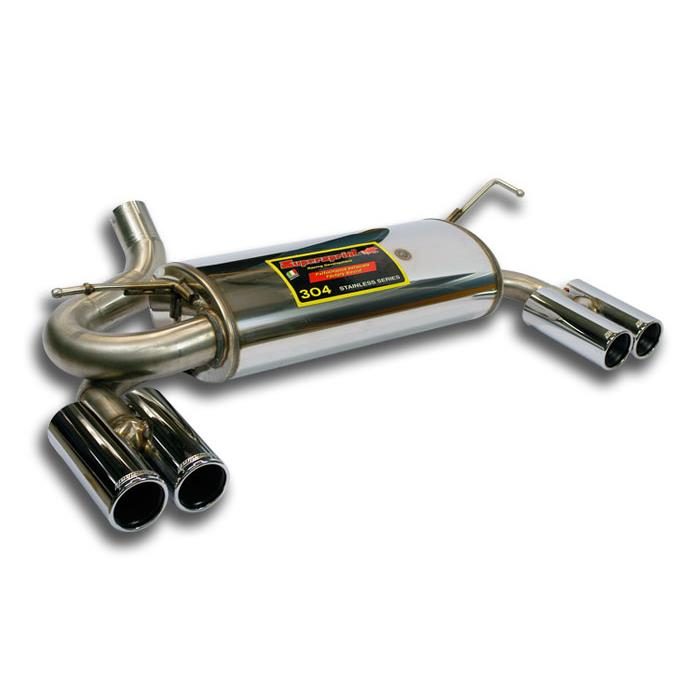 Jeep - JEEP WRANGLER UNLIMITED 4p. 3.8i V6 '07 -> '11 Rear exhaust Right OO80 - Left OO80, performance exhaust systems