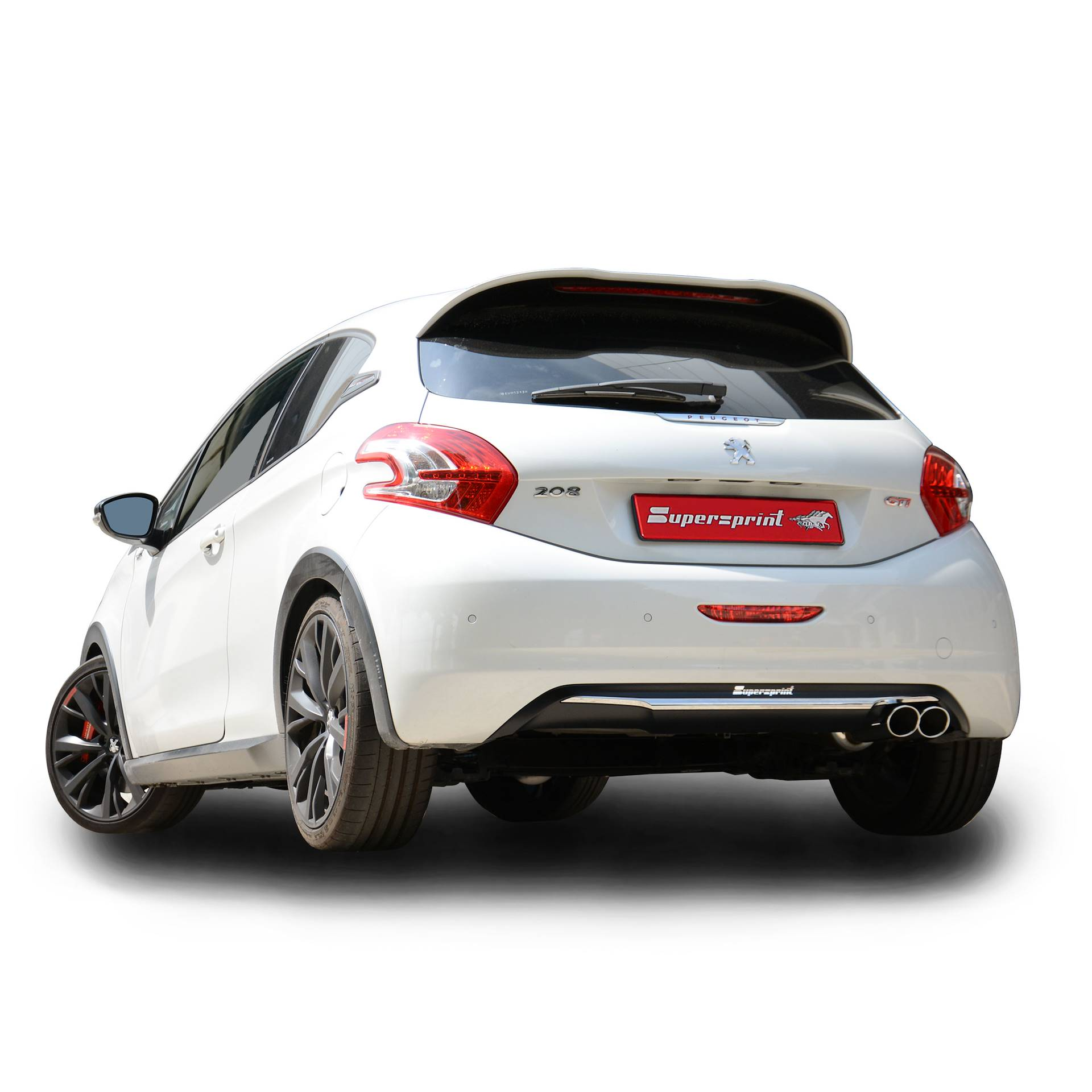 performance sport exhaust for 208 gti 30th anniversary peugeot 208 gti 30th 16v 208 hp. Black Bedroom Furniture Sets. Home Design Ideas
