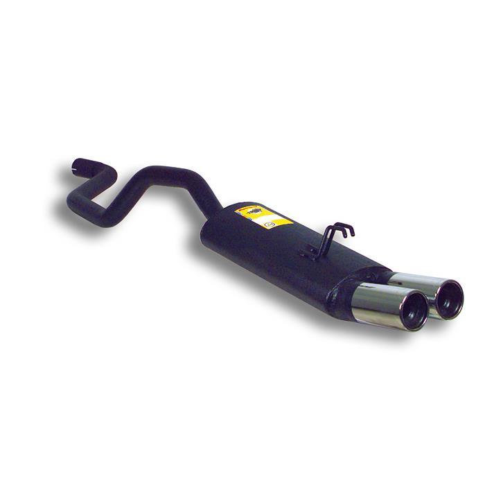 Supersprint | Výfuk - Fiat Punto, 1.2i 99 Tipo 188, 1999-2002, 814406 (Zadní díl výfuku ø80 mm, E-approved)