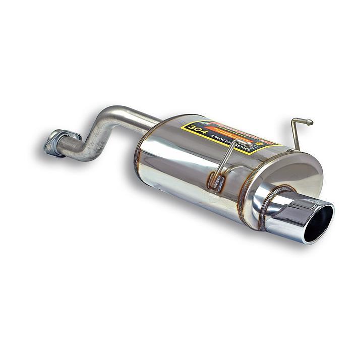 Supersprint | Výfuk - Honda CRX, 1.6 VTi, 1992-1998, 922054 (Zadní díl výfuku ø100mm - nerezová ocel - ESi 125 hp, E-approved )