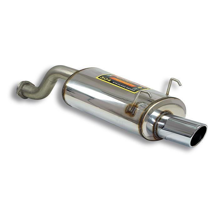 Rear Exhaust O 100 Stainless Steel: Exhaust System For Acura Integra At Woreks.co