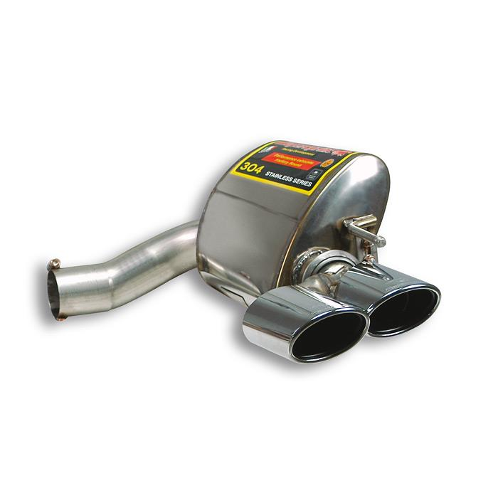 Mercedes - MERCEDES R230 SL 500 V8 (3v) '01 ->'05 Rear exhaust Right 120 x 80, performance exhaust systems