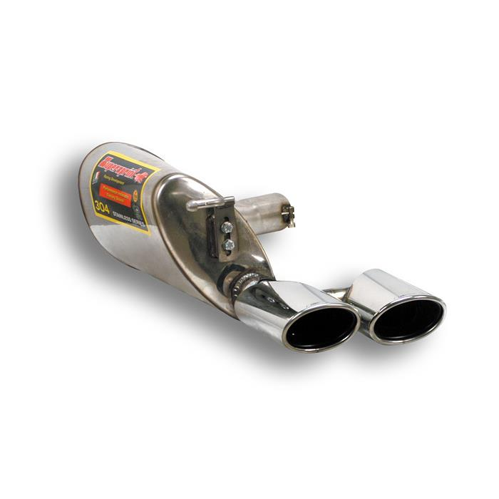 Mercedes - MERCEDES W211 E 270 CDi (Sedan + S.W.) '02 ->'05 Rear exhaust Left 120 x 80, performance exhaust systems