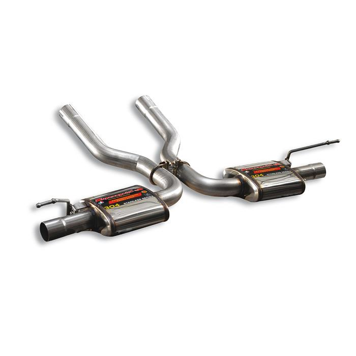 "Volkswagen - VW TOUAREG 6.0i W12 '05 -> '09 Rear exhaust Right + Left ""Racing"", performance exhaust systems"
