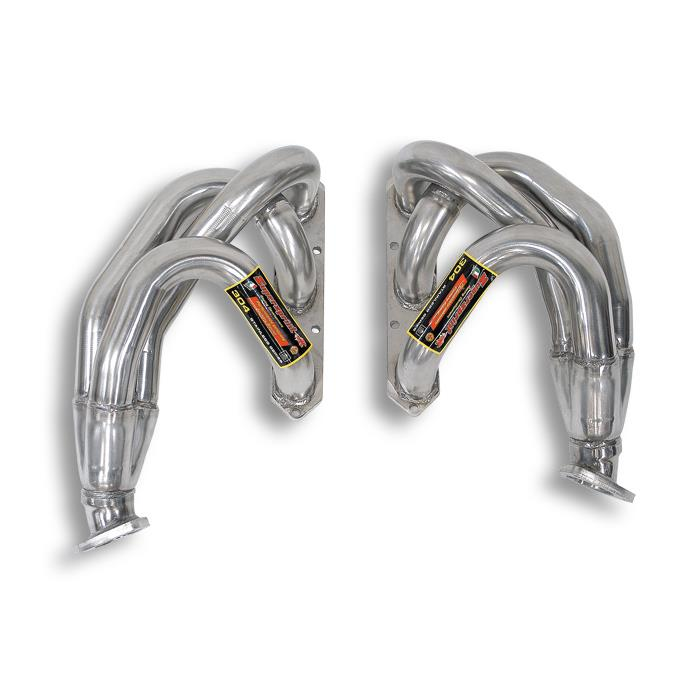 Porsche - PORSCHE 996 Carrera 3.4i '96 -> '01 Manifold Right + Left for OEM catalytic converter, performance exhaust systems