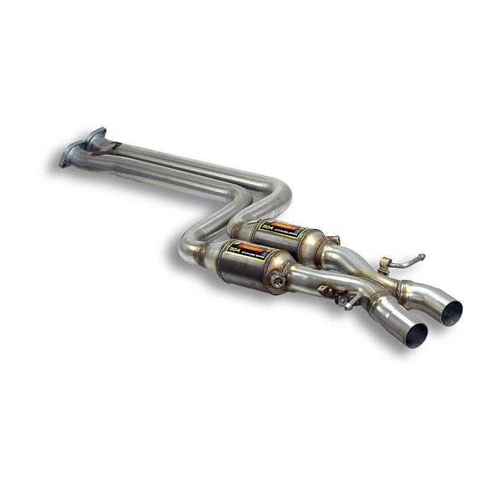 "BMW - BMW E46 330iX 4x4 (Sedan - Touring) ' 01 -> Metallic catalytic converter Right - Left + ""X-Pipe"", performance exhaust systems"