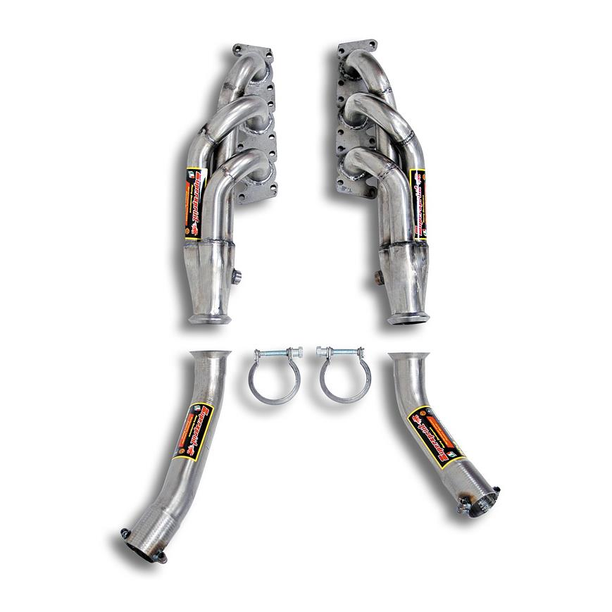 Audi - AUDI A4 (Sedan + Avant) 2.4i V6 (170 Hp) '01 -> '07 Manifold (for OEM cat), performance exhaust systems