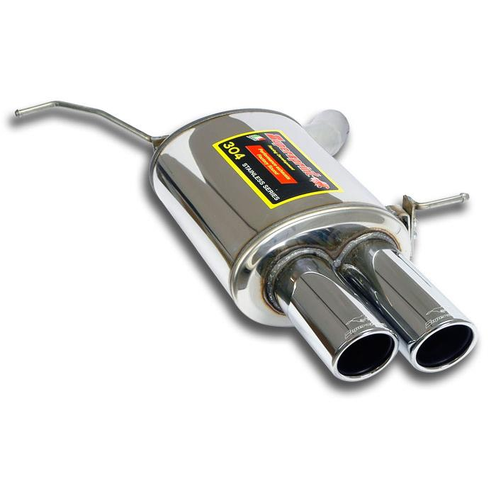 BMW M - BMW E64 Cabrio M6 5.0i V10 ' 05 -> Rear exhaust Left OO90, performance exhaust systems