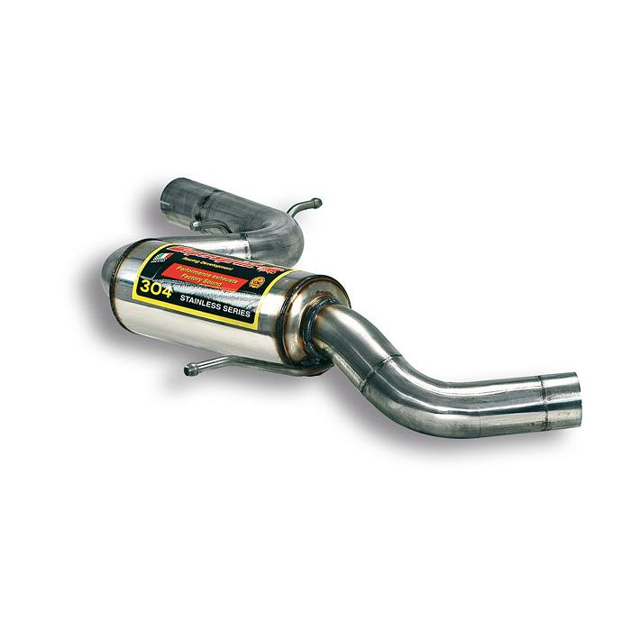 Audi - AUDI A3 8P 2.0 TFSi (200 Hp) '05 ->'13 (Ø65mm) Centre exhaust, performance exhaust systems