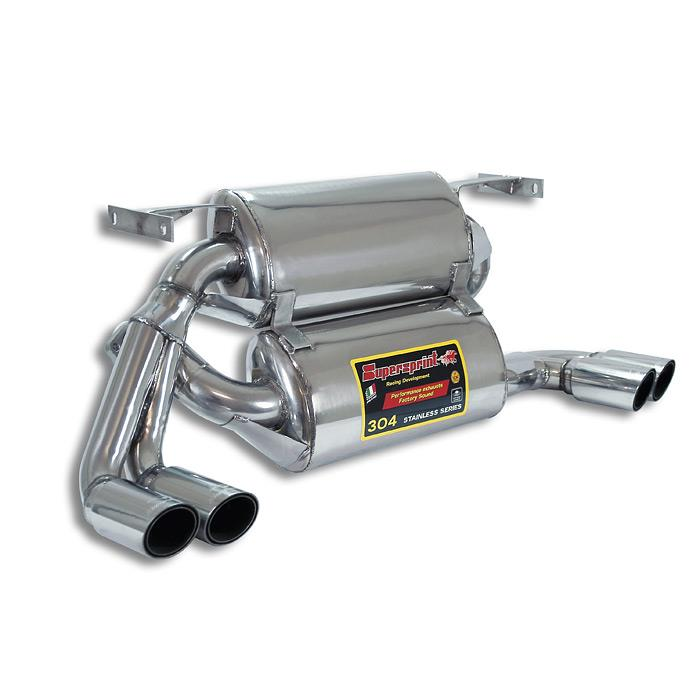 Ferrari - FERRARI 348 TB / TS Rear exhaust RightOO70 - LeftOO70, performance exhaust systems