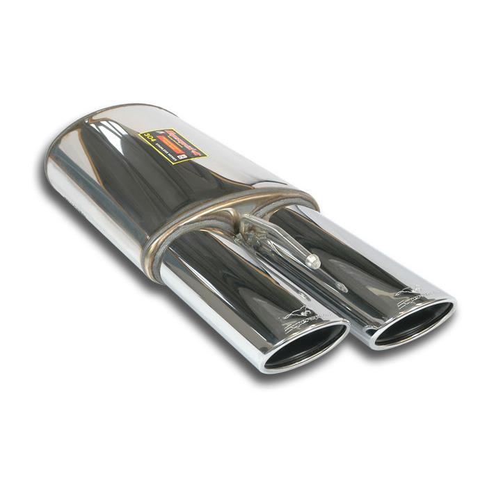 Mercedes - MERCEDES W221 S 500 / S 550 4-Matic V8 '05 -> '10 Rear exhaust Left 120x80, performance exhaust systems